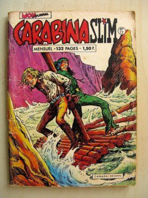 CARABINA SLIM N°72 Mon Journal 1973 – Pour un trésor