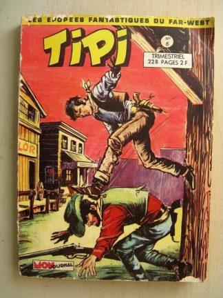 TIPI N°6 PECOS BILL (Rocky Bang Bang) - L'homme sans visage) LES QUATRE MAGNIFIQUES (la paix indienne) Mon Journal 1969