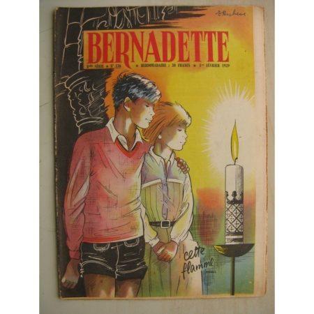 BERNADETTE N°136 (1er février 1959) L'enfant à la fleur (Marie Madeleine Bourdin) Le puma aux yeux d'escarboucles (Janine Lay)