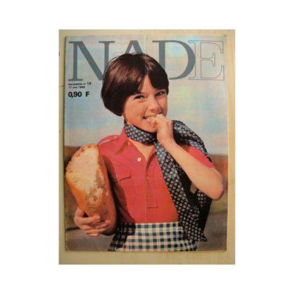 NADE (Bernadette) n°19(11 mai 1969) Les jumelles dans la piscine fantastique (Janine Lay)