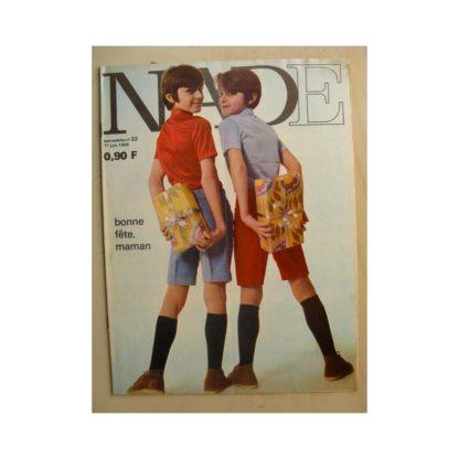 NADE (Bernadette) n°22(1er juin 1969) Les jumelles dans la piscine fantastique (Janine Lay)