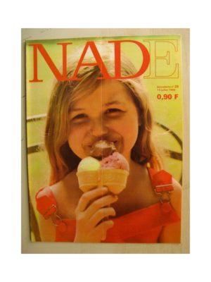 NADE (Bernadette) n°28(13juillet 1969) Les jumelles - La caravane blanche (Janine Lay) Michel Strogoff (Raoul Auger)