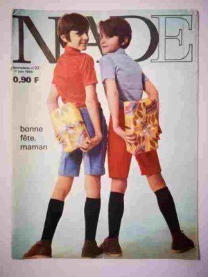 NADE N°22(1969) Les jumelles dans la piscine fantastique (Janine Lay)