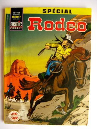 BD SPECIAL RODEO N°163 TEX WILLER