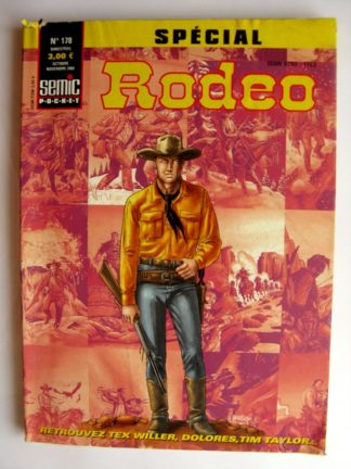 BD SPECIAL RODEO N°178 TEX WILLER