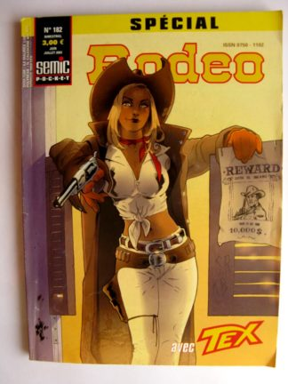 BD SPECIAL RODEO N°182 TEX WILLER