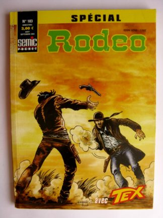 BD SPECIAL RODEO N°183 TEX WILLER