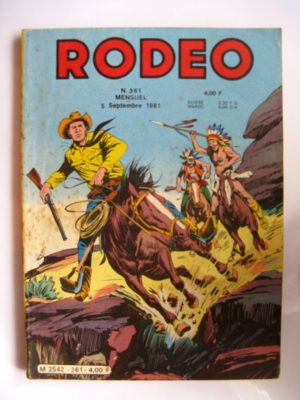 RODEO N°361 TEX WILLER (Mission à Great Falls 5e partie)