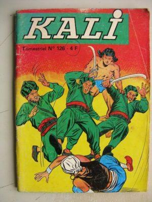 KALI Fils de la jungle N°126 Le rocher de Sikhs – Jeunesse et Vacances
