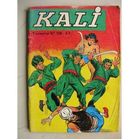 KALI Fils de la jungle N°126 Le rocher de Sikhs