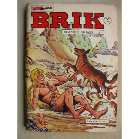 BRIK N°161 FISHBOY (Père fouettard) L'émeraude sacrée - LE CORSAIRE DE FER (Les fauves en liberté)