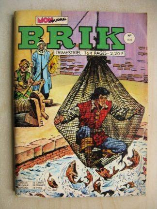 BRIK N°169 FISHBOY (Le coffre aux joyaux) Le vaisseau fantôme - LE CORSAIRE DE FER (Les captives du sultan)