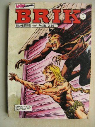 BRIK N°176 FISHBOY (Les léopards noirs) Le roi de l'île Keg - LE CORSAIRE DE FER (Dansez Milord!)