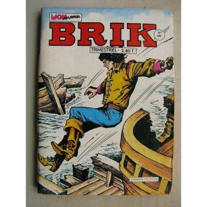 BRIK N°185 FISHBOY (La fin du voyage) Le fantôme de Mastheadmanor - LE CORSAIRE DE FER (L'île des zombis)