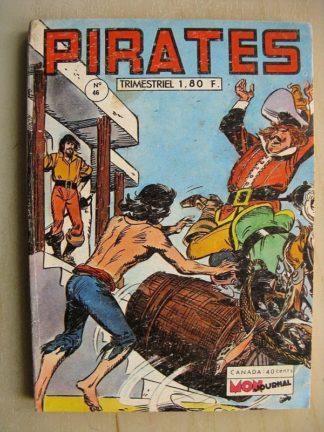 PIRATES n°46 Walter de l'Isle (les têtes rasées) Les Crocodiles (les chacals vengeurs) MON JOURNAL 1972