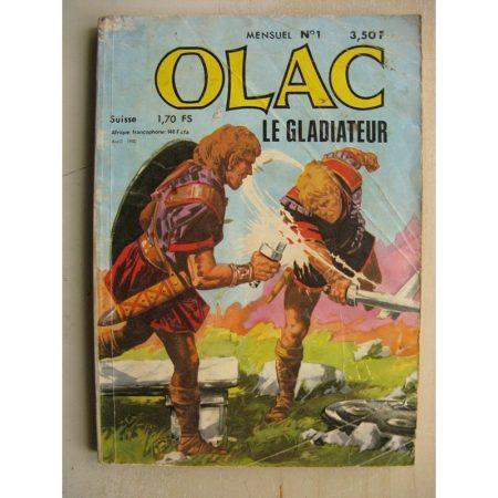 OLAC LE GLADIATEUR N°1 Attila, le fléau des dieux (MCL Jean Chapelle 1980)