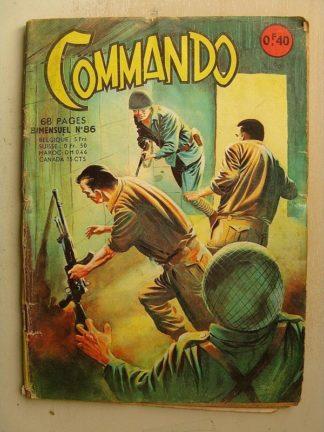 COMMANDO N°86 Le naufragé (Artima 1965)