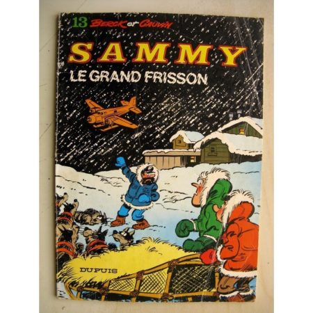 SAMMY 13 - LE GRAND FRISSON BERCK / CAUVIN DUPUIS 1980 EO