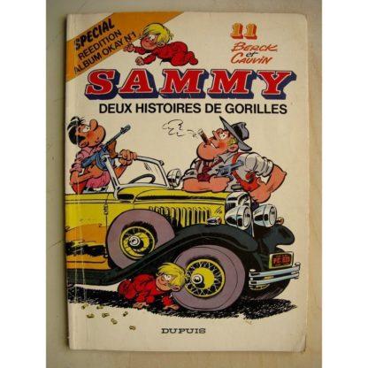 SAMMY 11 - DEUX HISTOIRES DE GORILLES BERCK / CAUVIN DUPUIS 1978 EO