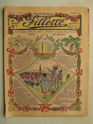 FILLETTE (SPE) N°561 (8 décembre 1918) Fille de soldat (André Galland) La nouvelle Jeanne d'Arc (M. mercey)