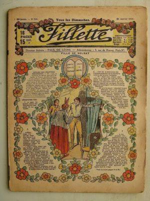 FILLETTE (SPE) N°566 (12 janvier 1919) Fille de soldat (Paul Darcy – André Galland) La pipe du père François (M. Mercey)