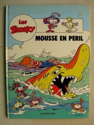 Les Snorky Tome 3 – Mousse en péril (Raoul Cauvin – Franco Onéta) Editions Dupuis 1987 Edition Originale (EO)