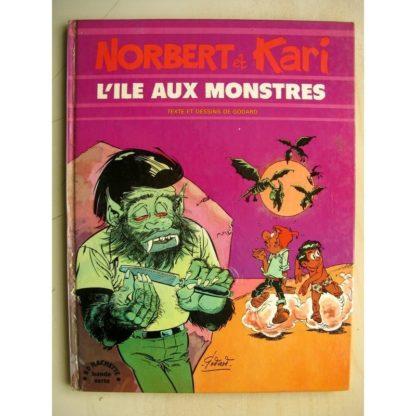 Norbert et Kari Tome - L'île aux monstres (Godard) BD Hachette 1975 - Edition Originale (EO)