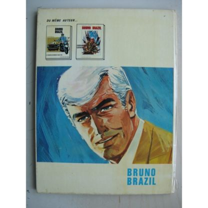 BRUNO BRAZIL - Les yeux sans visage - Edition originale (EO) Darhaud 1971 - William Vance - Louis Albert