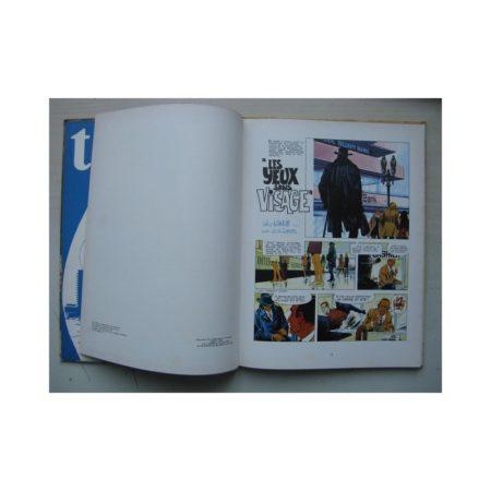 BRUNO BRAZIL - Les yeux sans visage - Edition originale (EO) Darhaud 1971 - William Vance - Louis Albert