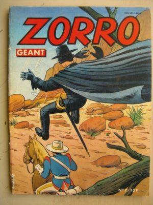 ZORRO GEANT N°7 Le loup de la sierra