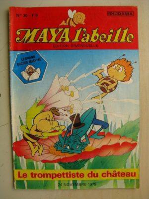 MAYA L'abeille n°30 Le trompettiste du château (Rhodania 1979)