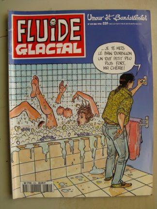 FLUIDE GLACIAL N°239 (mai 1996) Binet - Tha/Tharrats - Gaudelette - Léandri - Frémion/Lamorthe
