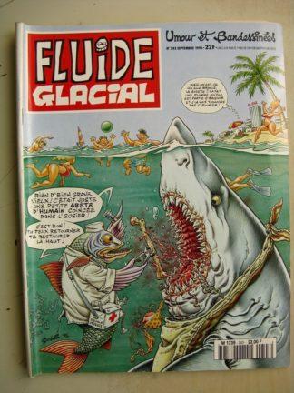 FLUIDE GLACIAL N°243 (septembre 1996) Binet/Frémion/Moerell/Léandri/Bernar/Betsabée Mouchot/Pichon