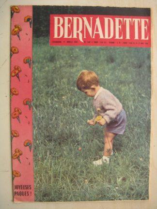 BERNADETTE N°199 (17 avril 1960) Marco Polo (Pierdec) Le seigneur d'Elvaz (P. Magnin) Moustache et Trottinette (Calvo)