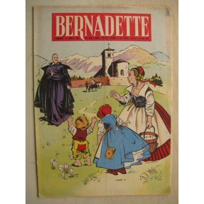 BERNADETTE N°200 (24 avril 1960) Moustache et Trottinette (Calvo) Mystère à Palomba (Janine Lay) Marco Polo (Pierdec)
