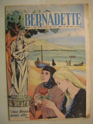 BERNADETTE N°201 (1er mai 1960) Moustache et Trottinette (Calvo) Marco Polo (Pierdec) Saint François de Sales