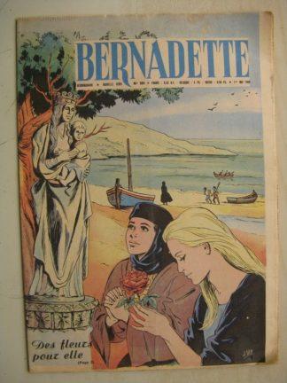 BERNADETTE N°201 (1er mai1960) Moustache et Trottinette (Calvo) Marco Polo (Pierdec) Saint François de Sales