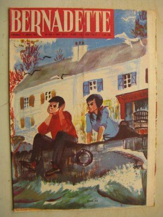 BERNADETTE N°224 (9 octobre 1960) Moustache et Trottinette (Calvo) Rosamée aux yeux clos (Manon Iessel - Isabelle Gendron)