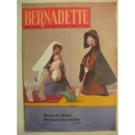 BERNADETTE N°234 (18 décembre 1960) Moustache et Trottinette (Calvo) Rosamée aux yeux clos (Manon Iessel - Isabelle Gendron)