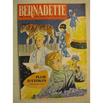 BERNADETTE N°239 (22 janvier 1961) Moustache et Trottinette (Calvo) Pluie d'étoile (J. Janvier) Rosamée aux yeux clos (M Iessel)