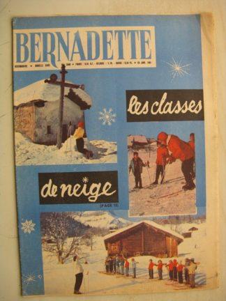 BERNADETTE N°240 (29 janvier 1961) Moustache et Trottinette (Calvo) Pluie d'étoile (J. Janvier) Rosamée aux yeux clos (M Iessel)