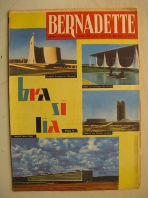 BERNADETTE N°243 (19 février 1961) Moustache et Trottinette (Calvo) Pluie d'étoile (J. Janvier) Rosamée aux yeux clos (M Iessel)