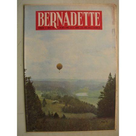 BERNADETTE N°244 (26 février 1961) Moustache et Trottinette (Calvo) Pluie d'étoile (J. Janvier) Rosamée aux yeux clos (M Iessel)