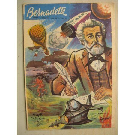 BERNADETTE N°247 (19 mars 1961) Moustache et Trottinette (Calvo) Pluie d'étoile (Jeanine Janvier - Isabelle Gendron) Jules Verne