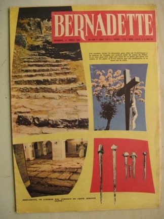 BERNADETTE N°248 (26 mars 1961) Moustache et Trottinette (Calvo) Pluie d'étoile (Jeanine Janvier) Jules Verne (Jan-Loup)