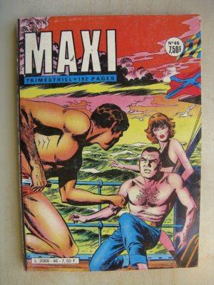 MAXI N°46 Capitaine Rix (A qui se fier?) Imperia 1982