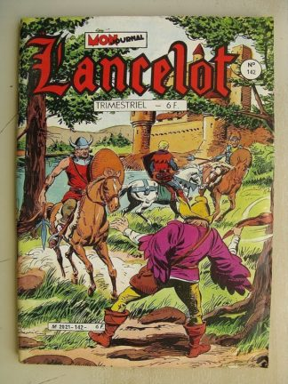 LANCELOT N°142 La harpe d'or - Editions Mon Journal 1985