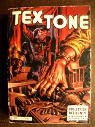 TEX TONE ALBUM RELIE 71 (N°458-459-460-461) IMPERIA 1981