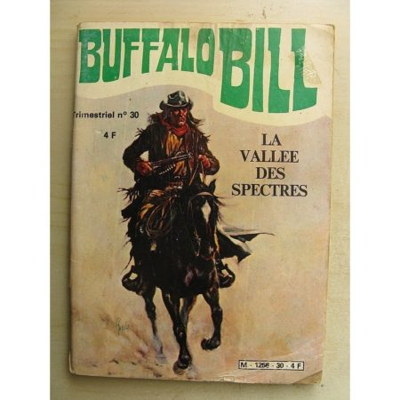 BUFFALO BILL N°30 La vallée des spectres (Jeunesse et Vacances 1980)