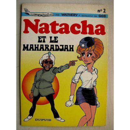 NATACHA ET LE MAHARADJAH (Walthéry - Gos) Dupuis 1972 Edition Originale (EO) Très bon état